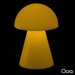 Lampada fungo JELLY 80cm Ocra