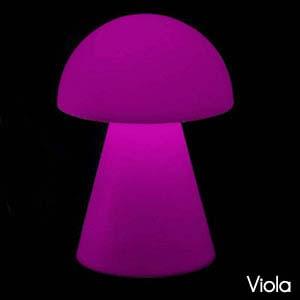 Lampada fungo JELLY 110cm Viola