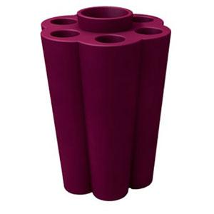 Portaombrelli Lulet drop in polietilene 49,5x38,55xh63 cm Prugna