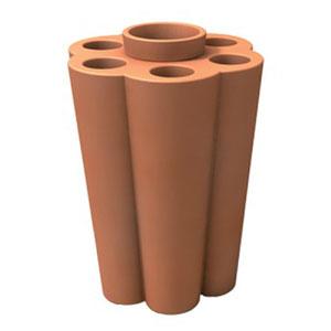 Portaombrelli Lulet drop in polietilene 49,5x38,55xh63 cm Arancio
