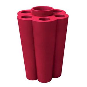 Portaombrelli Lulet drop in polietilene 49,5x38,55xh63 cm Fragola