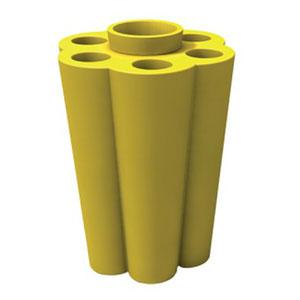 Portaombrelli Lulet drop in polietilene 49,5x38,55xh63 cm Giallo