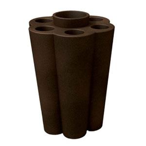 Portaombrelli Lulet drop in polietilene 49,5x38,55xh63 cm Bronzo