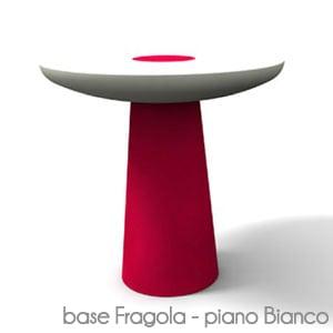 Tavolino Mikò Colorato/Bianco Fragola