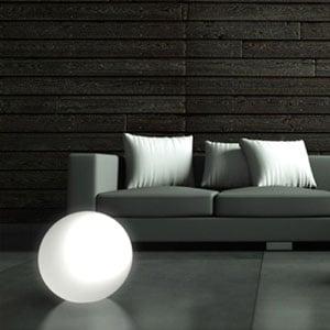 Lampada Sfera MOON per interno esterno 30cm colore Bianco lampada acquistabile separatamente