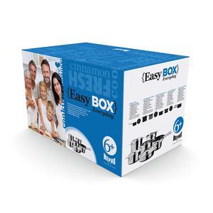Batteria di Pentole Mepra Every Day Easy Box Per 6 persone Acciaio Inox 1810