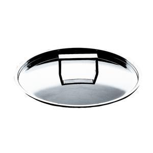Coperchio in acciaio inox ATTIVA diametro cm 24 per induzione in acciaio 18.10 Lucido
