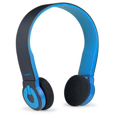 Cuffie per Bluetooth Cuffie Bluetooth con Tasti di Comando Integrati HI FUN colore blu