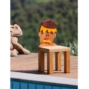 Sedia in Legno Per bambini GEPPETTO In legno di Faggio