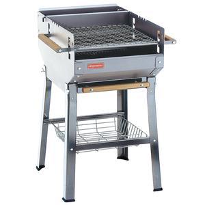 Barbecue a Carbone Italy realizzato in acciaio inox AISI 430