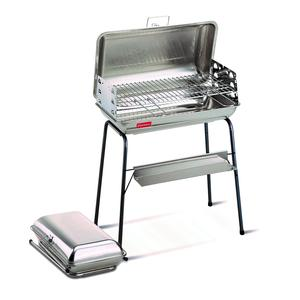 Barbecue a Carbone richiudibile inox 56x45x90h cm ulisse