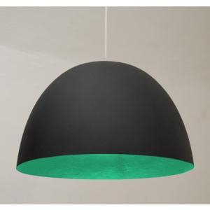 Lampada a Sospensione H20 in nebulite Ø 46xh27,5 Nero Verde