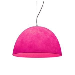 Lampada a Sospensione H20 in nebulite Ø 46xh27,5 colore magenta