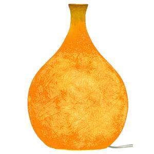 Lampada Da tavolo Luce Liquida 2 in nebulite Ø 18xh26 cm colore Arancione