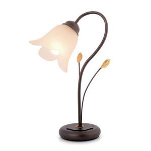 Lampada da Tavolo TABASCO 21xh35 cm in metallo forgiato a Mano verniciato a polveri