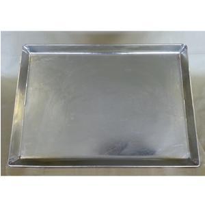 Teglia rettangolare in Rame Martellato stagnato 35x40xh3 cm ideale per pizze arrosti ecc ecc