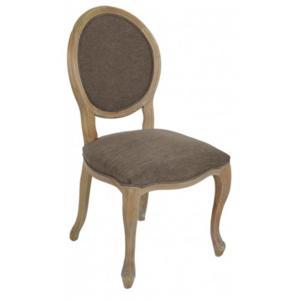 Sedia in Noce imbottitura in cotone 52x62xh98 cm