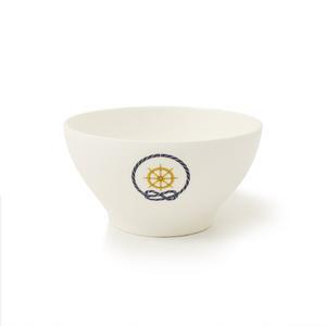 Scodella Timone in melamina, diam. 13 cm / H 6,8 cm, capacità 550 ml Colore: Bianco Avorio
