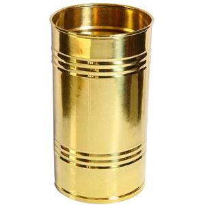 Portaombrelli in Ottone pesante 21x21xh48 cm colore dorato