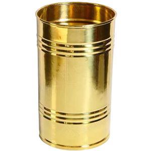 Portaombrelli in Ottone pesante 24x24xh48 cm colore dorato