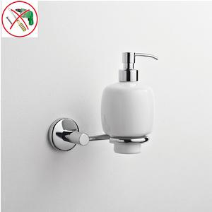 Porta Dispenser Adesivo in Ceramica IDRA 13x12,5xh18 cm fissaggio ad incollo adesivo Forte