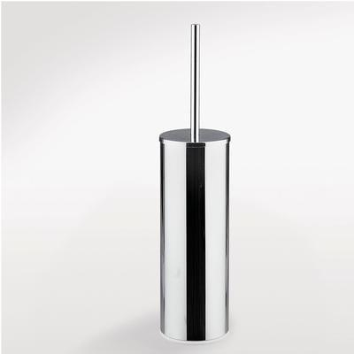 Porta scopino da bagno KIOS 16x15xh39 cm in metallo finitura cromo lucido