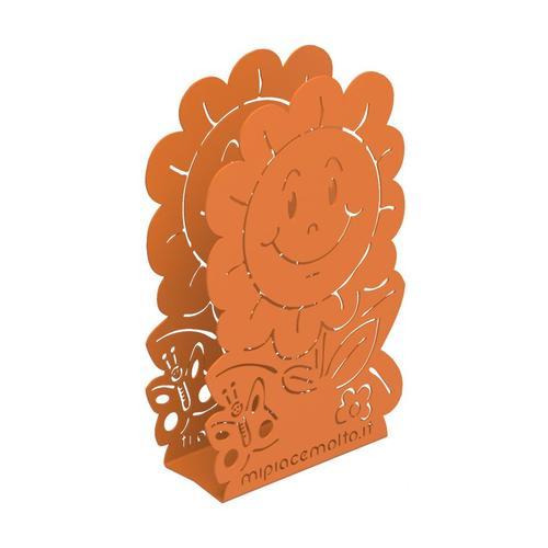 Portatovaglioli da tavola design Daisy in metallo verniciato 12x20x5 cm