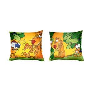 Federe per cuscini arredo 40x40 MORDILLO-GIUNGLA Parure due federe in Puro cotone di alta qualità 100%