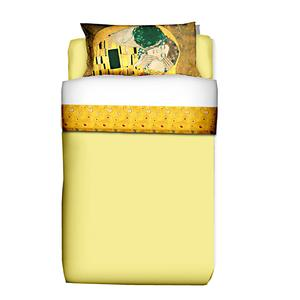 Parure Letto singola composta da 1 lenzuolo cm. 150x280 + 1 federa cm. 50x80 - Puro cotone di alta qualità