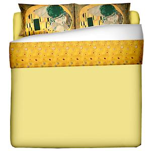 Parure Letto una piazza e mezza composta da 1 lenzuolo cm. 180x280 + 1 federa cm. 50x80 - Puro cotone di alta qualità