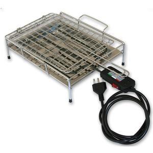 Bistecchiera elettrica con resistenza e piedini in gomma 33x48x11 cm -1900W 220 V