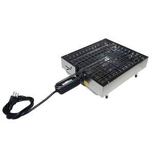 Bistecchiera elettrica LUSSO con bordo e resistenza 29x48x11 cm -1900W 220V