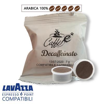 Cialde Caffè è, miscela Decaffeinato, compatibili Lavazza Espresso Point, confezione da 50 e 100 capsule