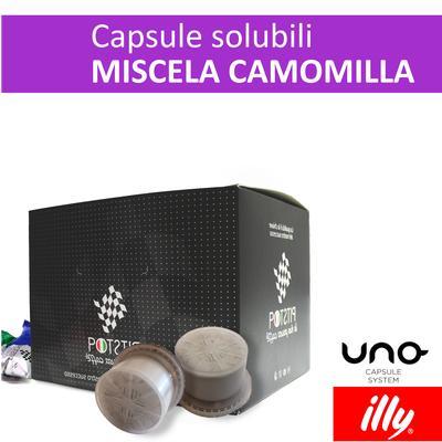 Camomilla, cialde solubili Illy Uno Sytem, confezione da 25 cialde, Pit stop