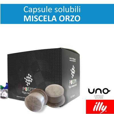 Orzo, cialde solubili Illy Uno Sytem, confezione da 25 cialde, Pit stop