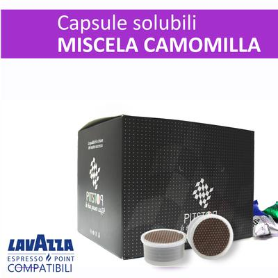 Camomilla, cialde solubili Lavazza Espresso point, confezione da 25 cialde, Pit stop