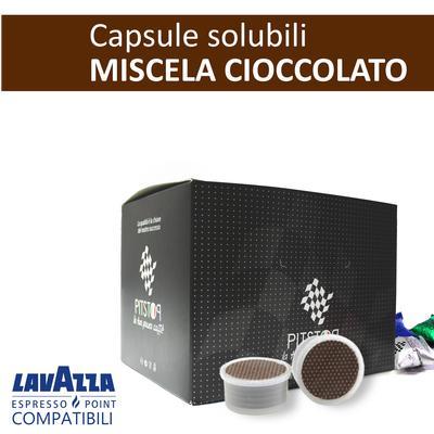 Cioccolato, cialde solubili Lavazza Espresso point, confezione da 25 cialde, Pit stop