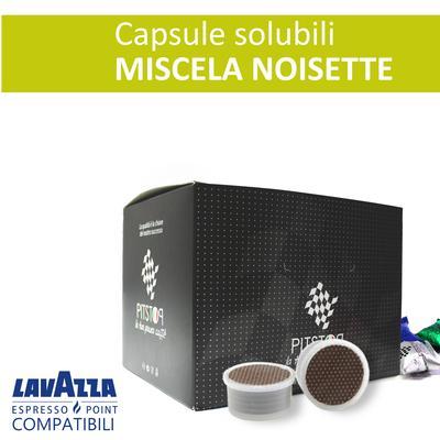 Noisette, cialde solubili Lavazza Espresso point, confezione da 25 cialde, Pit stop