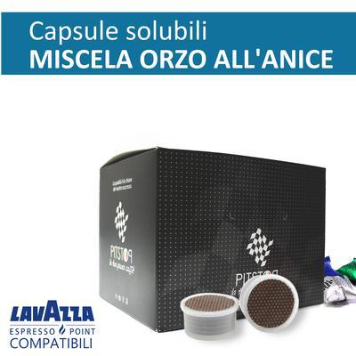 Orzo al anice, cialde solubili Lavazza Espresso point, confezione da 25 cialde, Pit stop