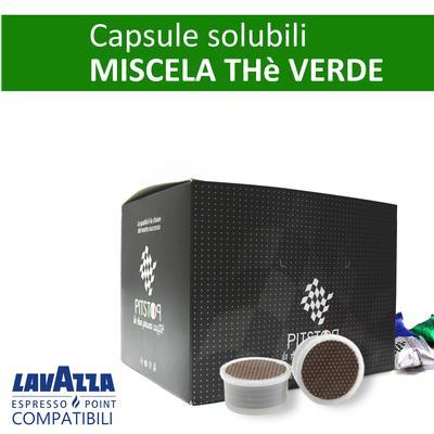 Thè verde, cialde solubili Lavazza Espresso point, confezione da 25 cialde, Pit stop