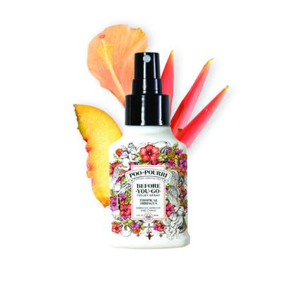 POO POURRI Lavender TROPICAL HIBISCUS 59-ML- Spray, profumatore per wc persistente Before-you-go