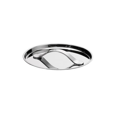 AL DENTE Coperchio diametro 18 cm, in acciaio 18.10, lavabile in lavastoviglie