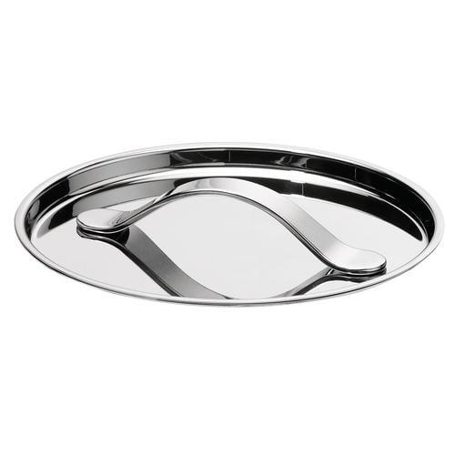 AL DENTE Coperchio diametro 20 cm, in acciaio 18.10, lavabile in lavastoviglie