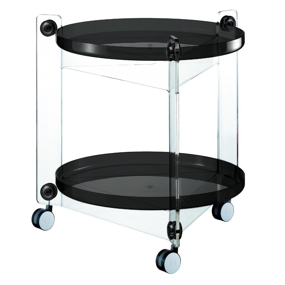 Carrello portavivande diametro 66xh63 5 cm massoni con - Carrello cucina nero ...