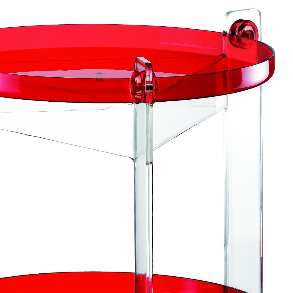 Carrello portavivande diametro 66xh63 5 cm massoni con - Carrello portavivande design ...