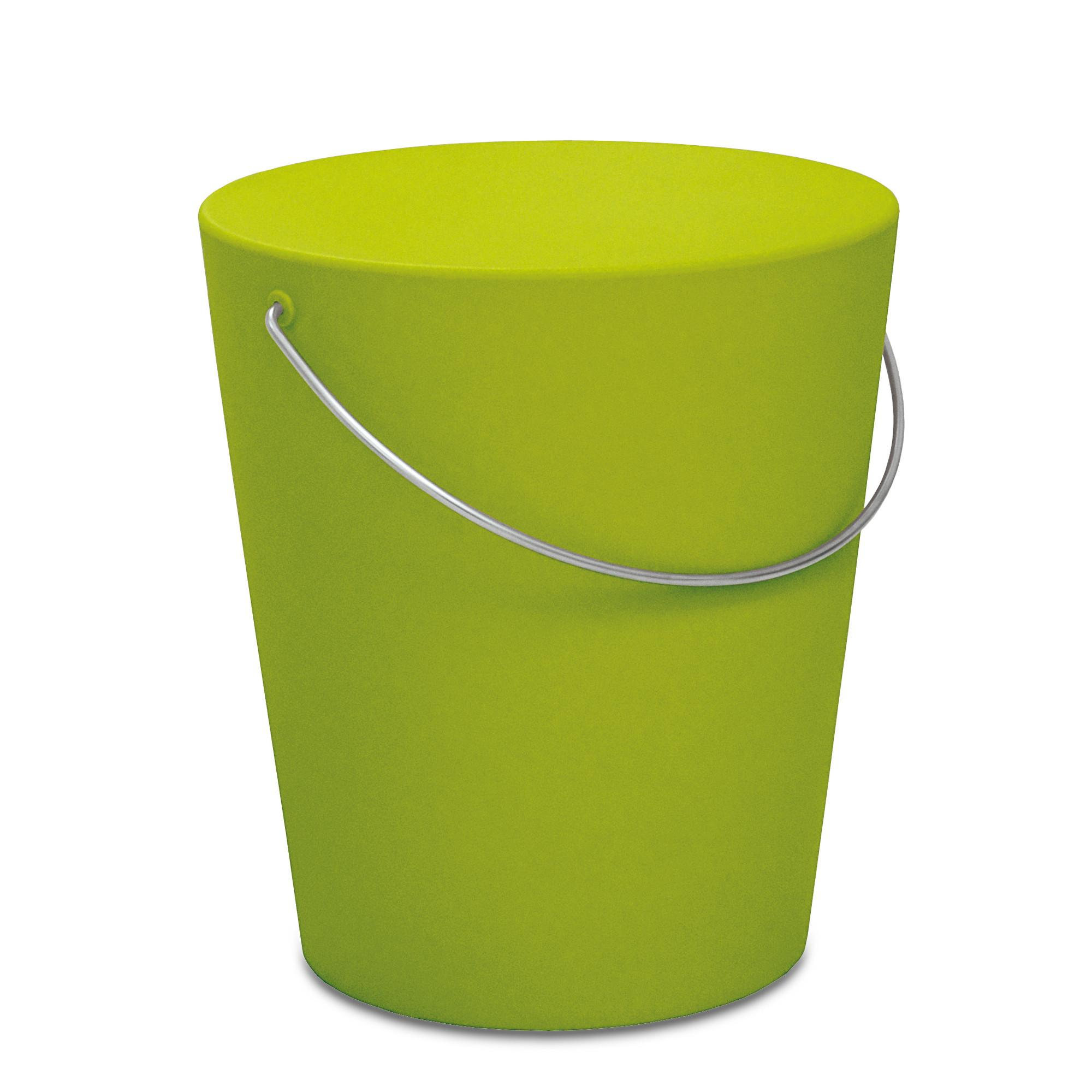 Sgabello movingstool 35 5xh39 cm verde acido opaco for Sgabello verde