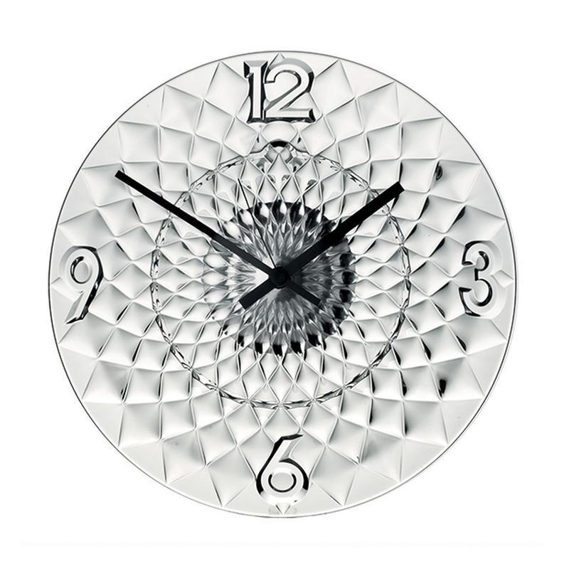 Orologio Da Muro Toujours diametro 36.50 in plastica trasparente ...