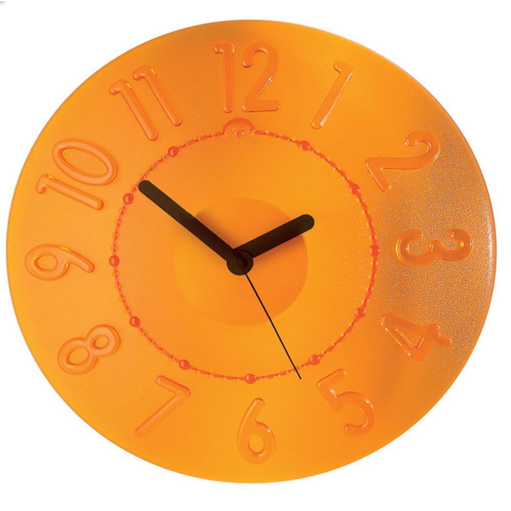 Guzzini Orologio da muro Time2Go Arancio | Guzzini | Stilcasa.Net ...