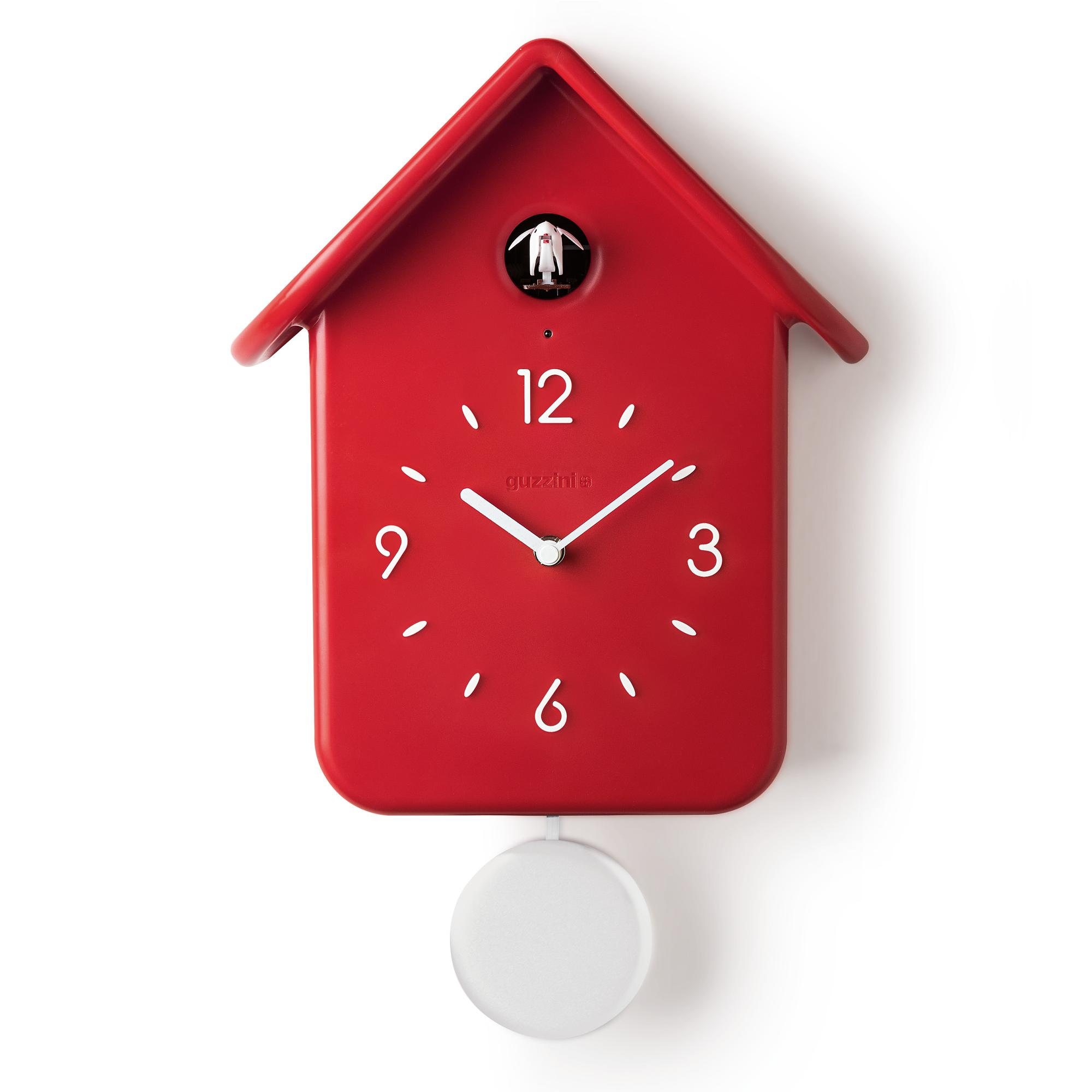 Orologio da Parete a Cucù QQ 24,8x12xh39 cm - con pendolo removibile ...