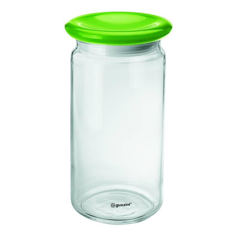 Barattolo in vetro alto feeling verde acido opaco - Cucina verde acido ...